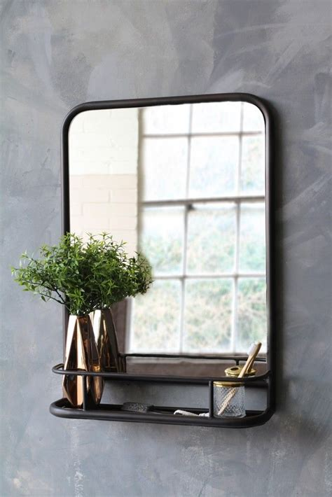 Bedroom Mirrors With Shelf by Best 25 Bathroom Mirror With Shelf Ideas On