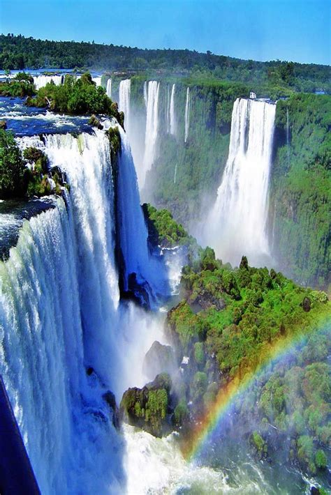 Iguazu Falls In 2019 Iguazu National Park Nature