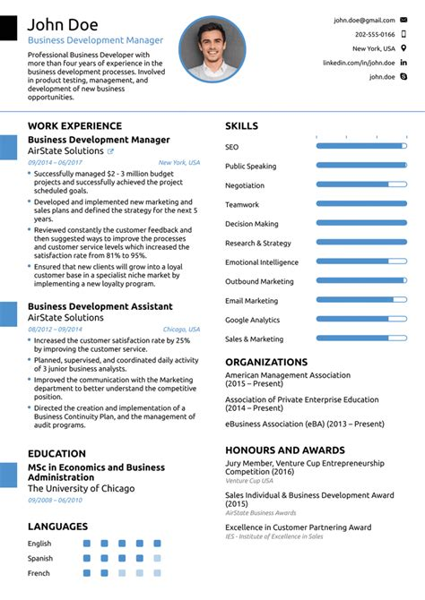 Top Resume Formats by Top Resume Format 8 Best Templates Of 2019