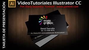 Tarjeta de presentación Videotutorial Illustrator by Yanko0 YouTube