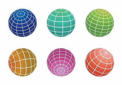 Globe Grid Graphics