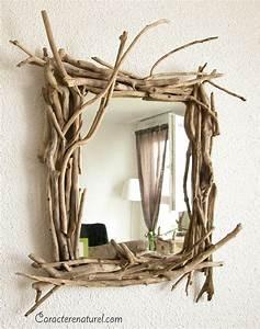 Miroir En Bois Flotté : caract re naturel miroir en bois flott ~ Teatrodelosmanantiales.com Idées de Décoration
