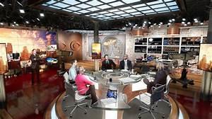 Cbs News Studio 57 Broadcast Set Design Gallery