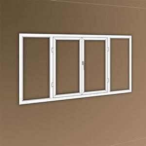 gamme attraction fenetre pvc 4 vantaux ouvrants With porte d entrée pvc en utilisant porte fenetre 4 vantaux pvc