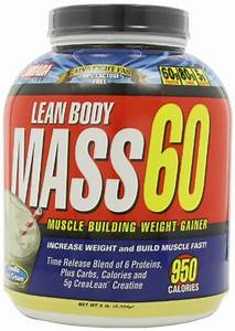 Labrada Nutrition Lean Body Mass 60 Muscle Builder Protein Powder  Vanilla Ice Cream  6