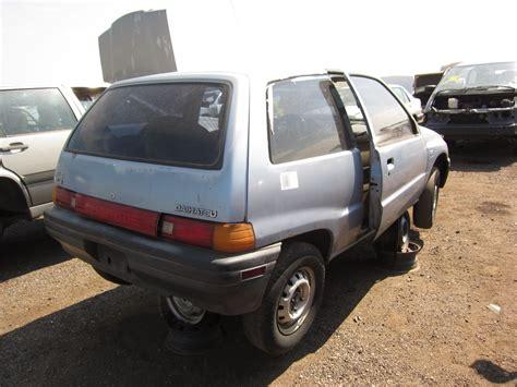 1989 Daihatsu Charade junkyard find 1989 daihatsu charade cls the about
