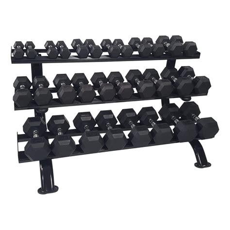 dumbbell rack prof  levels tunturi fitness
