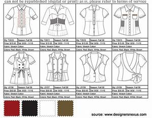 learning the lingo fashion terms to know With clothing line sheet template