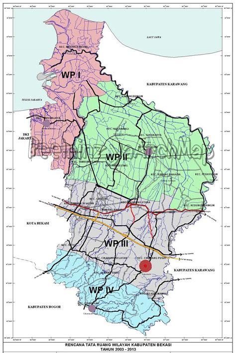 profil kabupaten bekasi geografi regional indonesia