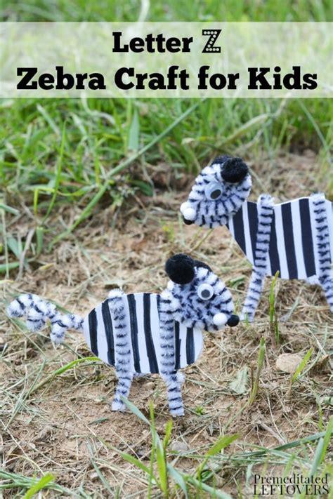 zebra craft  kids tutorial