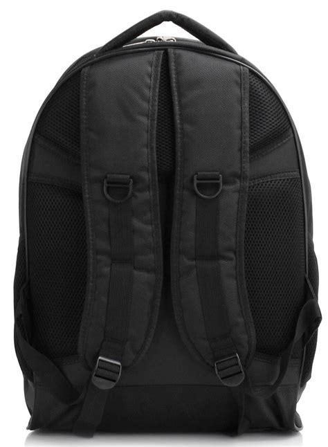 ls black backpack rucksack school bag