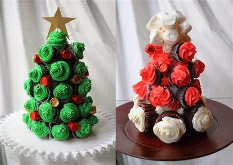 árbol de navidad con dulces navilandia cupcakes noviembre 2013