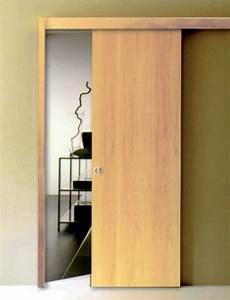 Porte Coulissante à Galandage : porte galandage scrigno kit coul ~ Dailycaller-alerts.com Idées de Décoration