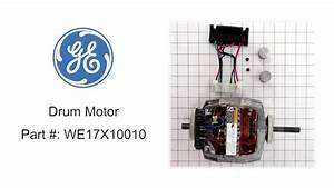 General Electric Dryer Motor Part    We17x10010
