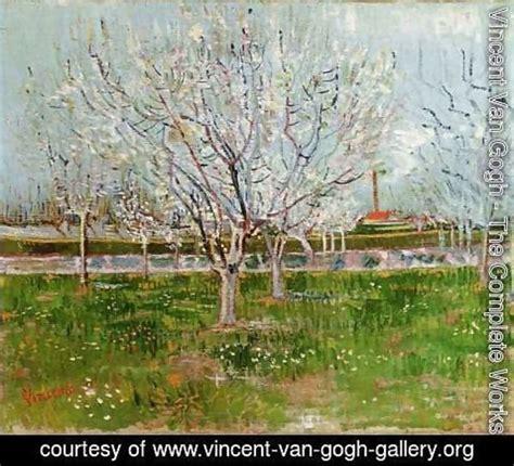 vincent van gogh  complete works flowering orchard