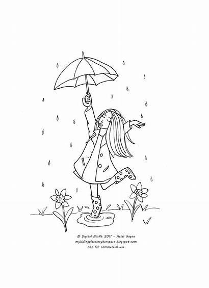 April Showers Stitch Along Spring