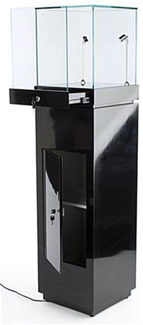 shiny kitchen cabinets these glossy black trophy cases for built in led 2194