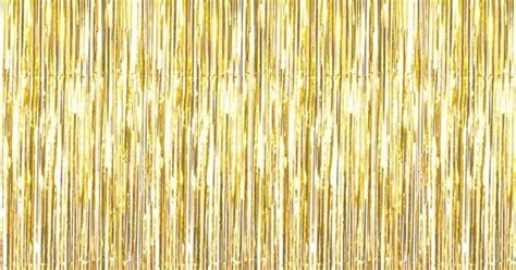 gold foil fringe curtain not just another southern gal metallic gold 3ft x 8ft