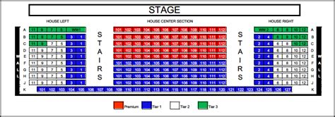 seating maps phoenix theatre company