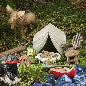 Mini Camping in the Woods Set - Table Decor - Home Decor