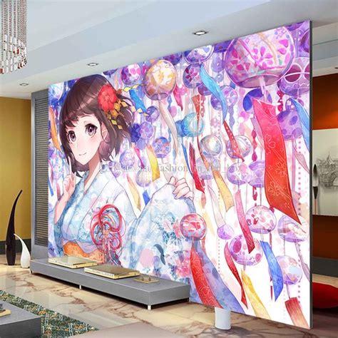 Anime Mural Wallpaper - anime wallpaper wall mural japanese anime 3d