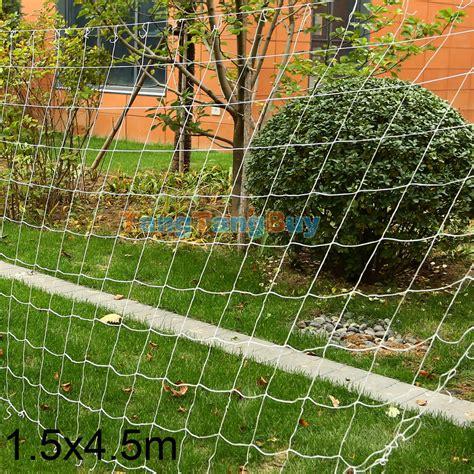 Trellis Netting by White Gardener 5x15ft 5x30ft Trellis Netting Plant Support