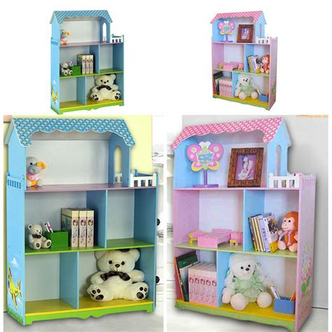 Childrens Bookcase by Children Furniture Boys Doll House With Bolcony