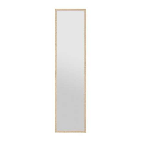 Spiegel Stave Ikea by Stave Spiegel 40x160 Cm Wit Gelazuurd Eikeneffect