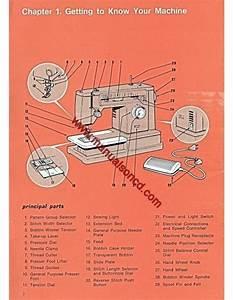 Singer 6136 Zigzag Sewing Machine Instruction Manual