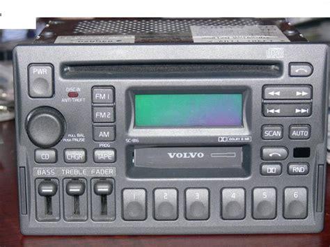 volvo sc  radio tape cd player