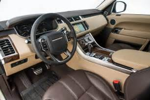 2015 Range Rover Sport Supercharged Interior