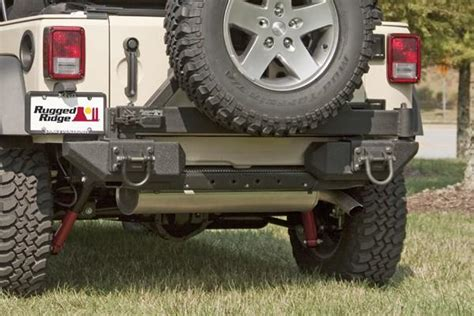 Rugged Ridge Aluminum Bumper by View Larger