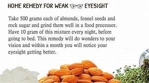 herbal remedy for weak vision
