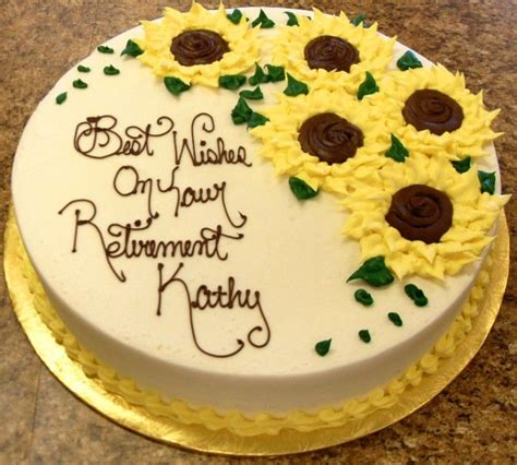 retirement cakes ideas  pinterest retirement