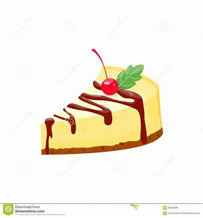 Cheesecake Homemade Vector Pie Illustration Clipart Dreamstime