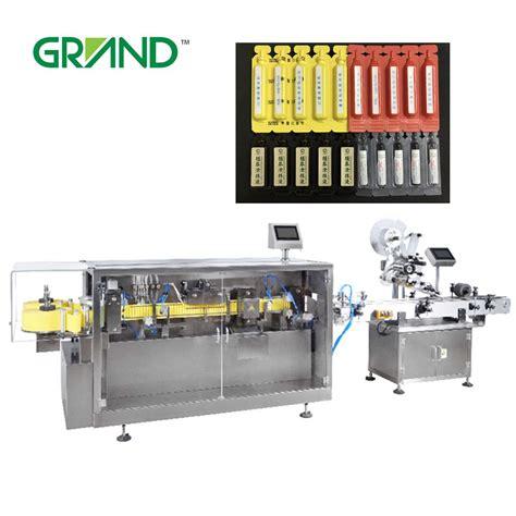automatic liquid plastic ampoule forming filling sealing machine  labeling machine buy