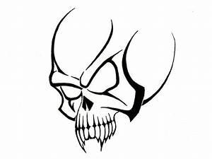 25 Cool Tribal Skull Tattoos | Only Tribal