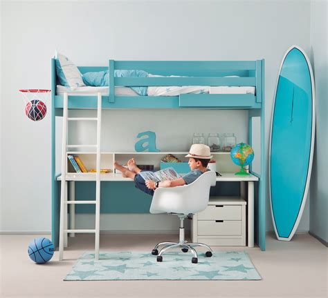 lit avec bureau lit mezzanine avec bureau lit hauteur avec bureau lit