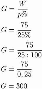 1 Prozent Regelung Berechnen : grundwert berechnen formel beispiele und definition ~ Themetempest.com Abrechnung