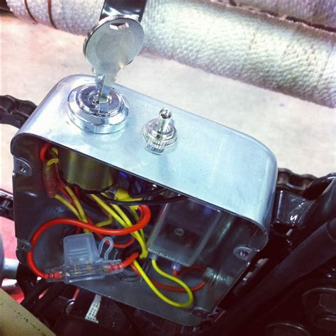 Motorcycle Electrical Fuse Box by Small Electrical Box For Chopper 10 Yamaha Xs650 Forum