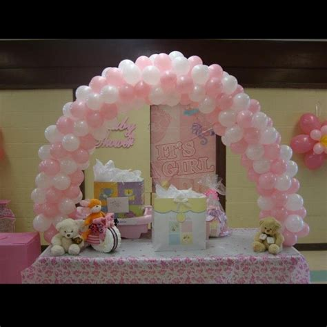 balloons baby shower balloon arch baby shower crafts and stuff pinterest baby showers girl shower and baby girls