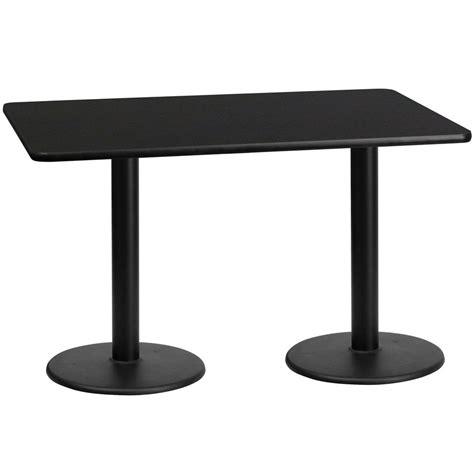 30 round table top flash furniture 30 39 39 x 60 39 39 rectangular black laminate