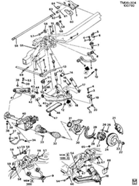 1994 chevrolet silverado front suspension diagram - Fixya