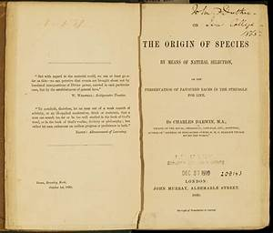 """NLM Opens Darwin Exhibition, """"Rewriting the Book of Nature"""""""