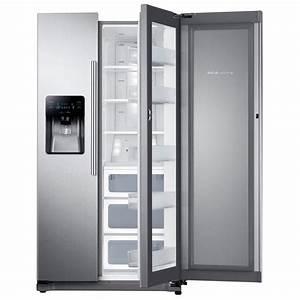 Side By Side Design : samsung 24 7 cu ft side by side refrigerator in stainless steel with food showcase design ~ Bigdaddyawards.com Haus und Dekorationen