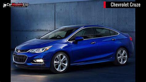 Full List Of Chevrolet Car Models