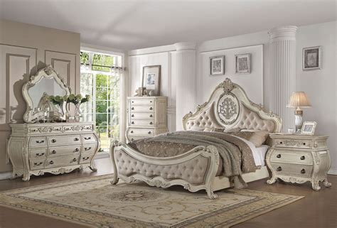 Opera Victorian Bedroom Furniture Antique White