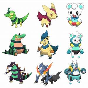 Starters X And Y Shiny Starters