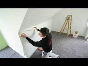 Wie Tapeziert Man : rasch tapeten wie tapeziere ich an einem kniestock youtube ~ Orissabook.com Haus und Dekorationen