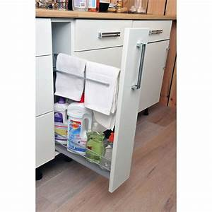 Tiroir Coulissant Cuisine : rangement coulissant torchons et bouteilles pour meuble l ~ Premium-room.com Idées de Décoration